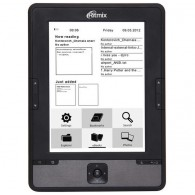 Электронная книга Ritmix RBK-610 (6''/E-ink/microSD до 16Gb)