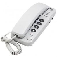 Телефон проводной Ritmix RT-100 серый