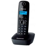 Телефон беспроводной Panasonic KX-TG1611 RUH черно-серый
