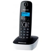 Телефон беспроводной Panasonic KX-TG1611 RUW черно-белый