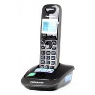 Телефон беспроводной Panasonic KX-TG2511 RUT темно-сер