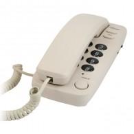 Телефон проводной Ritmix RT-100 бежевый