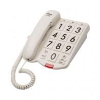 Телефон проводной Ritmix RT-520 бежевый