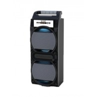 Колонка портативная MS-353BT (Bluetooth/USB /SD/FM) серая