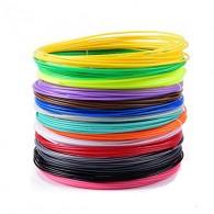 Комплект PCL-пластика для 3D ручки, 16 цветов по 5 метров