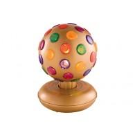 Диско-шар FunnyFest-1015G золотистый, d=15cm, Золотой карнавал