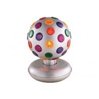 Диско-шар FunnyFest-1015S серебристый, d=15cm, Северное сияние