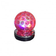 Диско-шар разноцветный (USB, SD,220V) B52 Pink Bubble