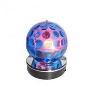 Диско-шар разноцветный (USB, SD,220V) B52 Blue Bubble