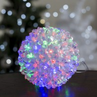 """Светодиодный шар """"Цветы"""" RGB"""