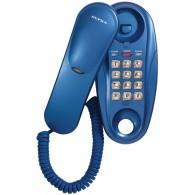 Телефон проводной Supra STL-112 синий