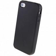 Чехол для iPhone 4 силиконовый черный