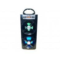 Колонка портативная MS-210BT (Bluetooth/USB /SD/FM/дисплей) черная