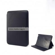 Чехол для планшета 9.7''IPad2/iPad3 черный пласт.крепл. гладкая кожа