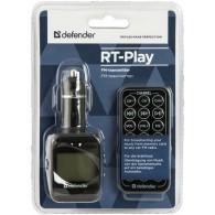 MP3 FM модулятор автомоб. Defender RT-Play, пульт ДУ