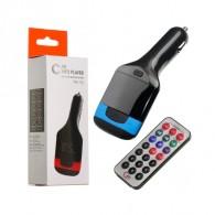MP3 FM модулятор автомоб. KTS FM-02 (TM-90) AUX/USB