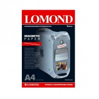 Бумага Lomond матовая A4, с магнитным слоем, 2 л (2020346)/45