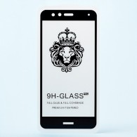 Защитное стекло 2,5D для Huawei Honor P10 Lite чер (85068)