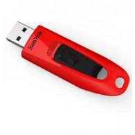 Флэш-диск SanDisk 32GB USB 3.0 CZ48 Cruzer Ultra красный