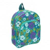 Рюкзак малый бирюзовый с цветами (1230614)