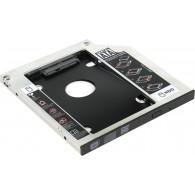 """Шасси для 2,5""""SATA HDD Orient UHD-2SC9 для уст.в SATA отсек оптич.привода ноут"""