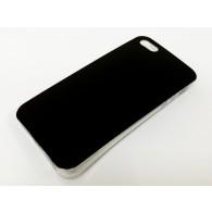 Чехол для iPhone 5 силиконовый черный Glamour