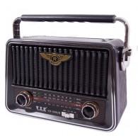 Радиоприемник VX-345US (USB/microSD/Fm) серебро
