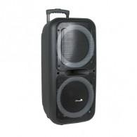 """Колонка портативная 2*12"""" EL20-05 (Bluetooth/USB /microSD/FM/) чер"""