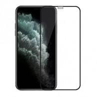 Защитное стекло 2.5D для iPhone 12 mini черное (119313)