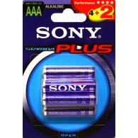 Батарейка Sony LR03 Stamina BL 6/72
