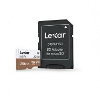 Карта памяти microSDHC Lexar 256Gb Class 10 UHS-1 667х U3 A1 V30 с адапт.