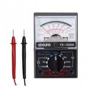 Мультиметр ФАZA YX - 1000A пост/пер напр, пост ток, сопр, емкость,1,5В(АА)