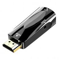 Переходник HDMI (M) - VGA (F) HW-2208
