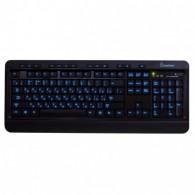 Клавиатура SmartBuy 302 USB черная (SBK-302U-K) с подсветкой