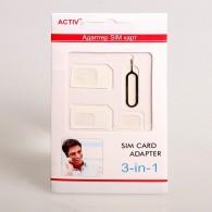 Адаптер для SIM-карты 3 в 1 (nano\micro\mini)