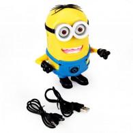 Мини-колонка Миньон Дейв (USB, microSD)