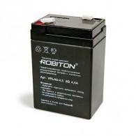 Аккумулятор для прожекторов Robiton (6V 4,5Ah)