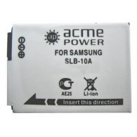 Аккумулятор в/к. Acme Power SLB-10А (900mAh 3,7v) Li-ion для Samsung