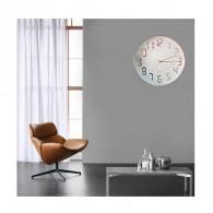 Часы настенные 10440 (1АА) белый циферблат, золотой корпус и цифры