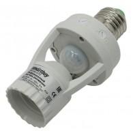 Датчик движения инфракр. в патрон Е27,60 Вт, до 6м, IP44 SmartBuy