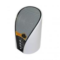Мини-колонка WS-133 (Bluetooth, TF, USB, FM) белая