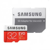 Карта памяти microSDHC Samsung 32Gb Class10 Evo UHS-1 (95/20Mb/s)с адап