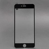 Защитное стекло 2,5D для iPhone 6 Plus черное (91805)