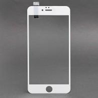 Защитное стекло 2,5D для iPhone 6 Plus белое (91806)