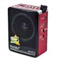 Радиоприемник XB-901 (USB/SD/FM) крас. Waxiba
