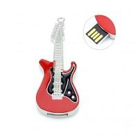 Флэш-диск 8GB Usb2.0 Гитара черно-красная