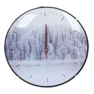 """Часы настенные Perfeo """"Зимний лес"""" кругл.,диам.30см (1АА)"""