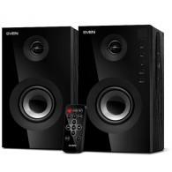 Колонки SVEN 2.0 SPS-615 черные (2*10 Вт) (USB\SD\Bluetooth)