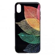 Чехол для iPhone XS Max листья