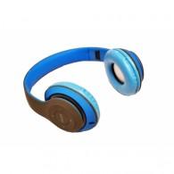 Наушники-плеер S170 (Fm, microSD,Bluetooth) с микроф.полноразм. синие